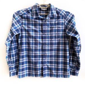 Salomon Shirt Top Button Front Mens Size Medium